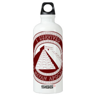 I Survived The Mayan Apocalypse Water Bottle