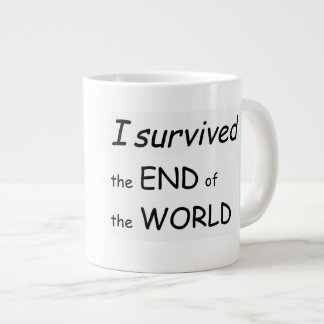 I survived the Mayan world end Large Coffee Mug