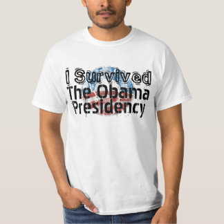 I Survived the Obama Presidency Funny Political T-Shirt