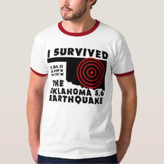 I Survived the Oklahoma Earthquake T-Shirt