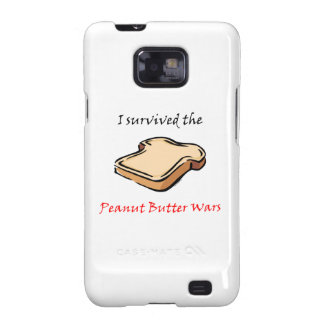 I survived the Peanut Butter Wars Galaxy S2 Cover