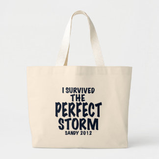 I Survived the Perfect Storm, Sandy 2012, hurrican Bag