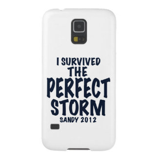 I Survived the Perfect Storm, Sandy 2012, hurrican Galaxy S5 Covers