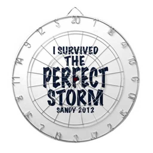 I Survived the Perfect Storm, Sandy 2012, hurrican Dartboard