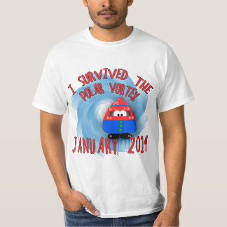 I Survived the POLAR VORTEX January 2014 T-Shirt