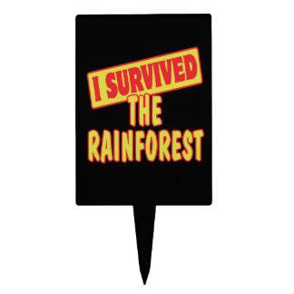I SURVIVED THE RAINFOREST CAKE PICK