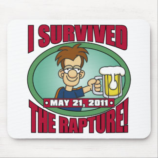 I Survived the Rapture 2011 Mouse Pad