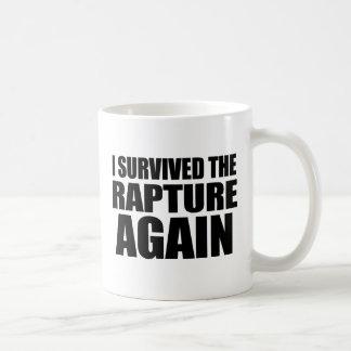 I Survived The Rapture Again Coffee Mug