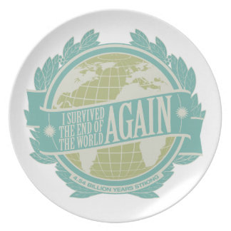 I Survived the Rapture (Again) Collectable Plate