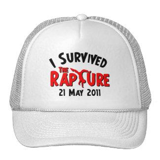 I Survived The Rapture Trucker Hat