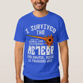 I Survived The Russian Meteor T Shirt