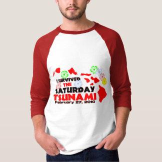 I Survived The Saturday Tsunami T Shirt