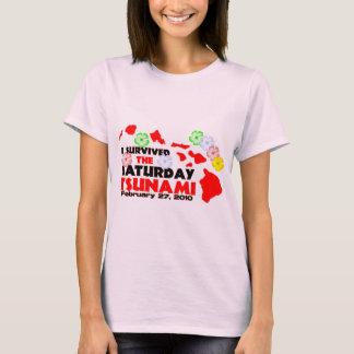 I Survived The Saturday Tsunami T-Shirt