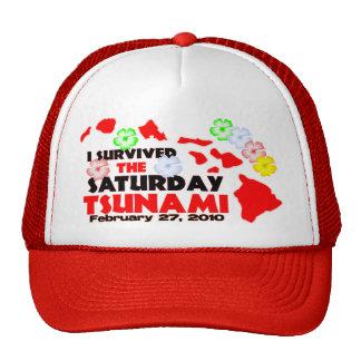 I Survived The Saturday Tsunami Trucker Hat