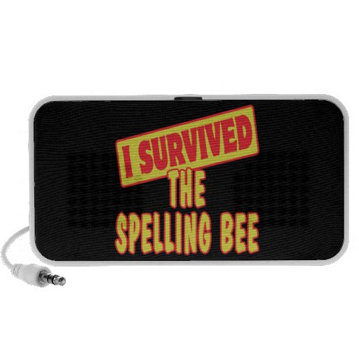 I SURVIVED THE SPELLING BEE iPod SPEAKER