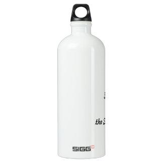 I survived the superstorm! water bottle