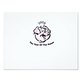 I Survived  The Swine Flu 2009 Card