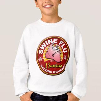 I Survived The Swine Flu - H1N1 Sweatshirt