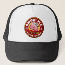 I Survived The Swine Flu - H1N1 Trucker Hat