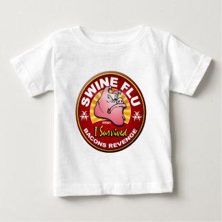 I Survived The Swine Flu - H1N1 Tee Shirt
