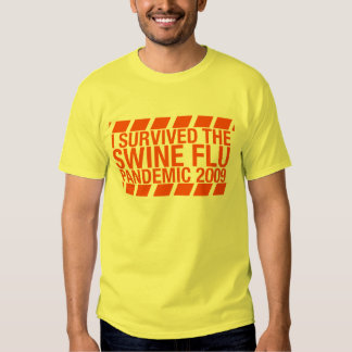I Survived The Swine Flu Pandemic 2009 Shirt
