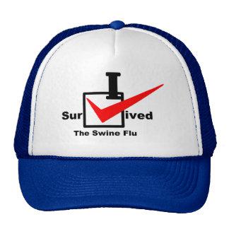 I Survived The Swine Flu Trucker Hat