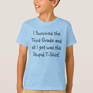 I Survived the Third Grade T-Shirt