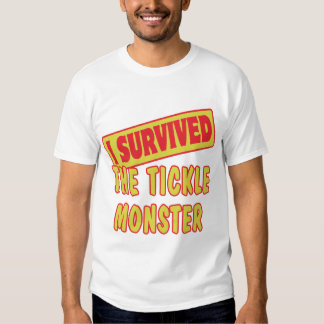 I SURVIVED THE TICKLE MONSTER T-SHIRT