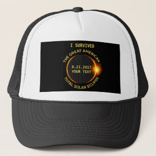 I Survived the Total Solar Eclipse 8 21 2017 USA Trucker Hat