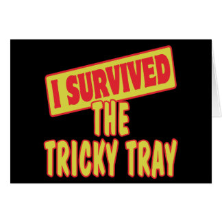 I SURVIVED THE TRICKY TRAY CARD