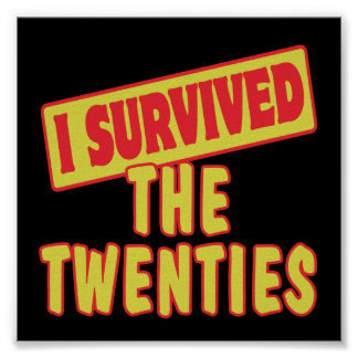 I SURVIVED THE TWENTIES POSTER
