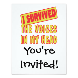 I SURVIVED THE VOICES IN MY HEAD CARD