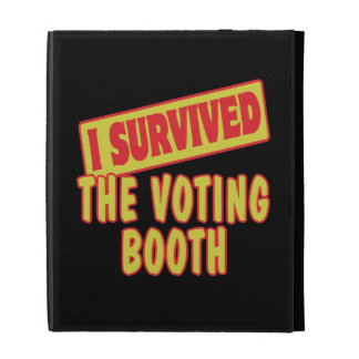 I SURVIVED THE VOTING BOOTH iPad FOLIO COVER