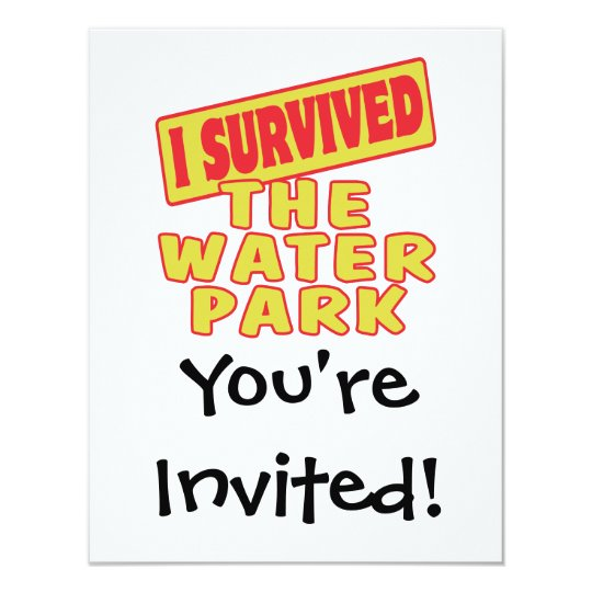 I SURVIVED THE WATER PARK CARD