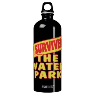 I SURVIVED THE WATER PARK WATER BOTTLE