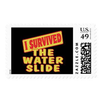 I SURVIVED THE WATER SLIDE STAMPS