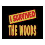 I SURVIVED THE WOODS POSTER