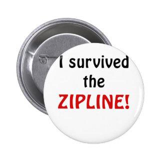 I Survived the Zipline Button