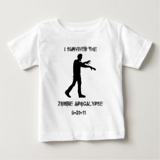 I Survived the Zombie Apocalypse Baby T-Shirt