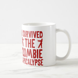 I Survived The Zombie Apocalypse Coffee Mug