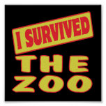 I SURVIVED THE ZOO PRINT