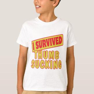 I SURVIVED THUMB SUCKING T-Shirt