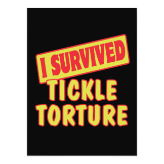 I SURVIVED TICKLE TORTURE CUSTOM ANNOUNCEMENTS