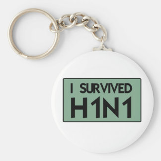 I Survived to H1N1 Keychain