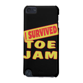 I SURVIVED TOE JAM iPod TOUCH (5TH GENERATION) COVER