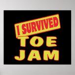 I SURVIVED TOE JAM PRINT