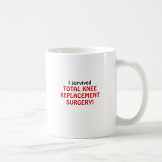 I Survived Total Knee Replacement Surgery Coffee Mug