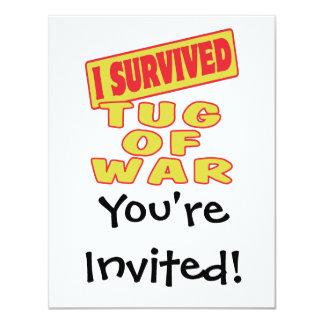 I SURVIVED TUG OF WAR CARD