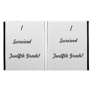 I survived Twelfth Grade! iPad Cases