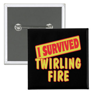 I SURVIVED TWIRLING FIRE BUTTON
